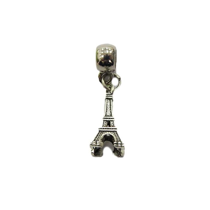 Berloque Pingente Niquel Torre BEN079