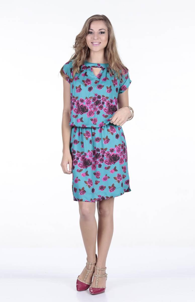 Vestido Ella's Jasmine Azul 11264