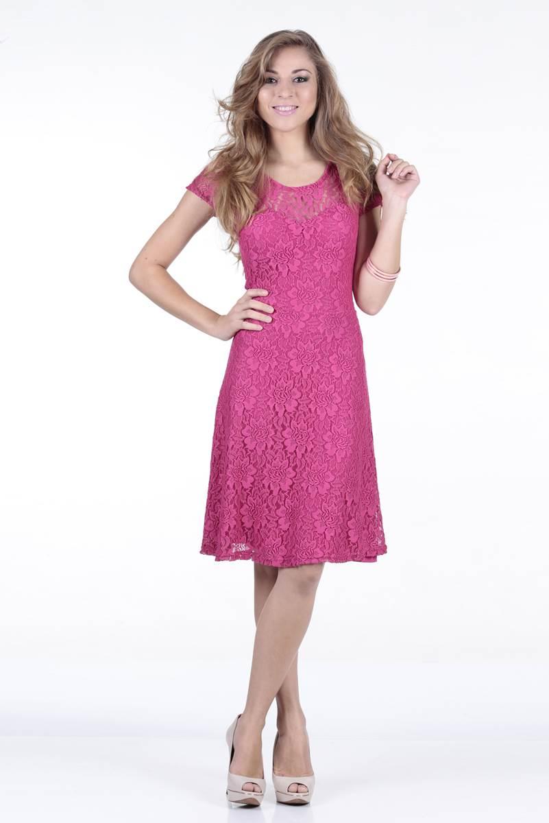 Vestido Ella's Pocahondas Rosa 11265