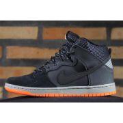T�nis Nike SB - Dunk High PRM Shield Black/Black