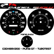 Kit Transl�cido p/ Painel - Cod499v200 - Puma GT Turotest