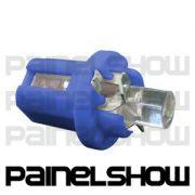 Soquete B8 T5 com Led sem Foco substitui a Osran 12/2 - Azul