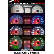 Kit Transl�cido p/ Painel - Cod550v220 - Ecosport ou Fiesta
