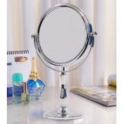 Espelho Dupla Face Em A�o Com Pano Toalha Multiuso Fix Voopt