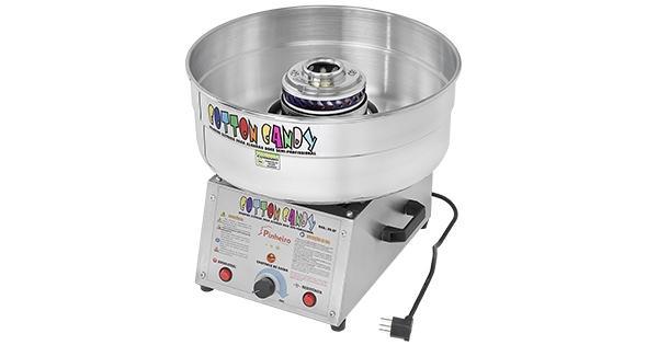 M�quina de algod�o doce semi-profissional Bi-volt