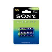 Pilha AA Alcalina Sony AM3L-B2D - Blister Com 2 Unidades
