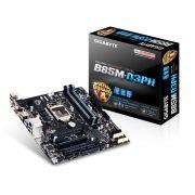 Placa M�e Gigabyte LGA1150 B85M-D3PH MATX DDR3 1600MHz 32GB BOX