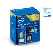 Processador Intel Core I7-4790K 4GHz(4.4GHz Turbo Max) 8MB Cache BX80646I74790K LGA1150 Com Intel� HD Graphics 4600