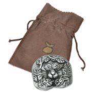 Amuleto da Fertilidade Masculino - Prateado