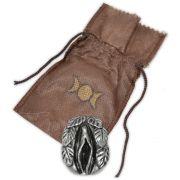 Amuleto da Fertilidade Feminino - Prateado