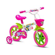 Bicicleta Infantil Feminina Honey Nathor Aro 12
