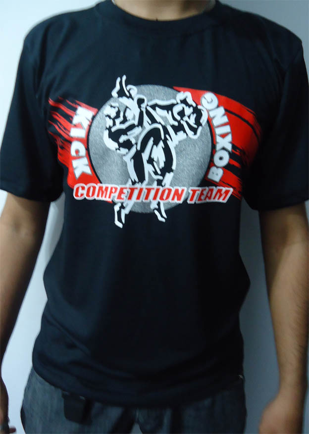 Camisa/Camiseta - KickBoxing Competition Team - Toriuk