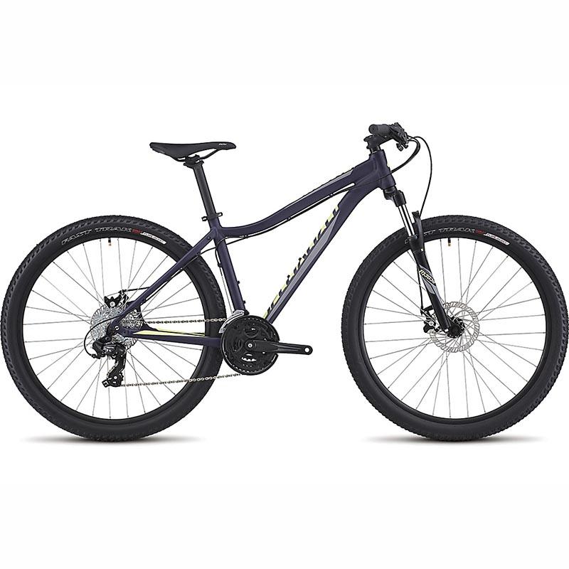 Bicicleta Specialized Myka Disc 650b Roxo/Verde 2017