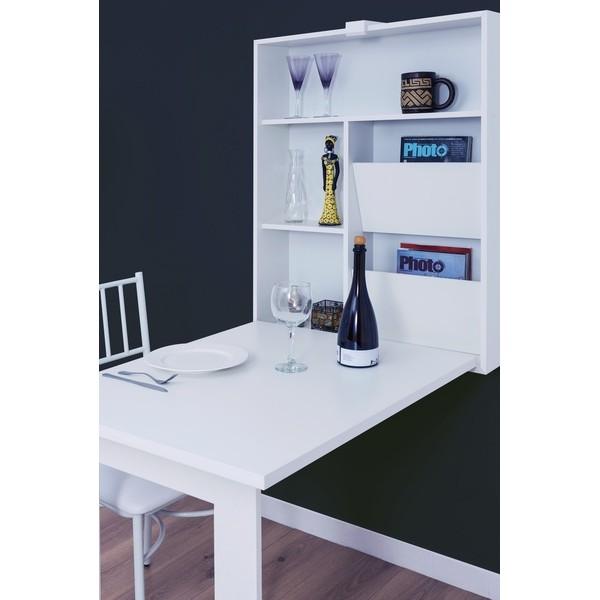 mesa multiuso dobr�vel - em MDF Branca