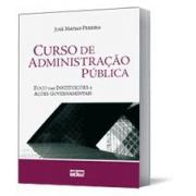 Curso de Administra��o P�blica, 3a.ed., 2010