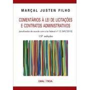 Coment�rios � Lei de Licita��es e Contratos Administrativos, 15a.ed., 2012