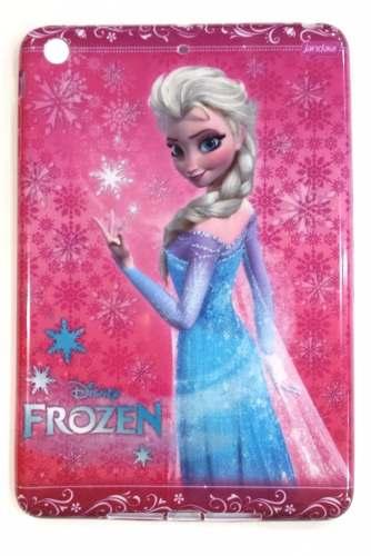 Capa Ipad Mini 1 2 3 Apple Traseira Flexível Elsa Frozen