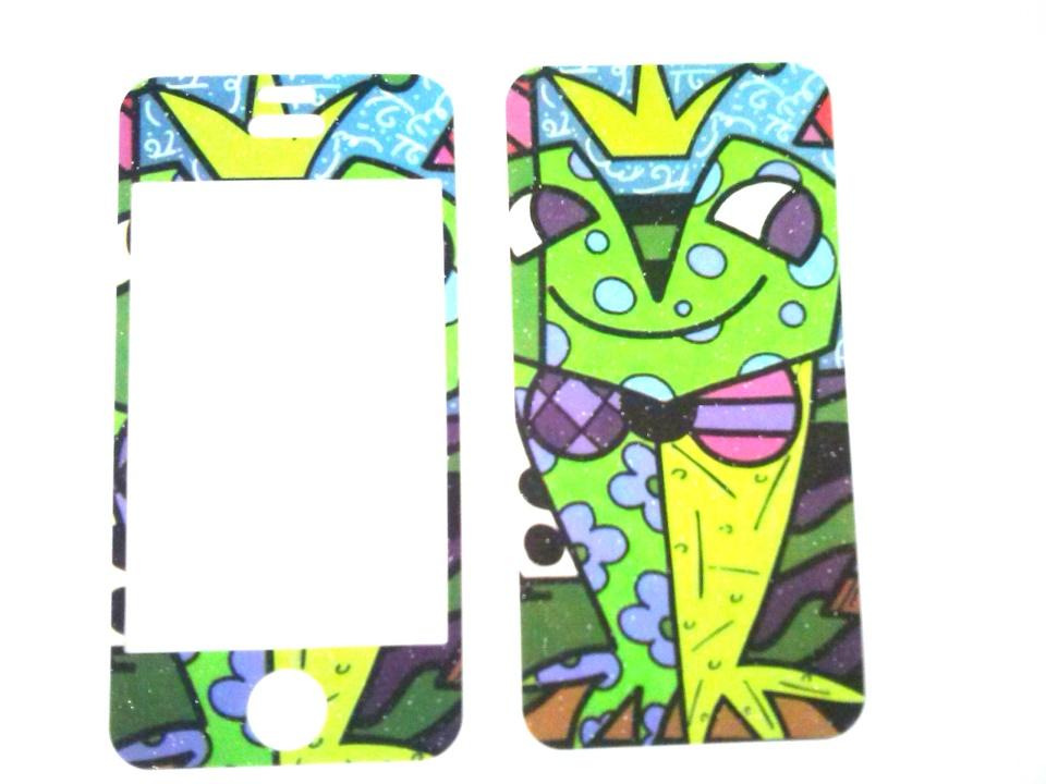 Película Skin Iphone 4 4s Apple Romero Britto