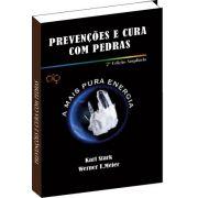 Livro - Preven��es e cura com Pedras
