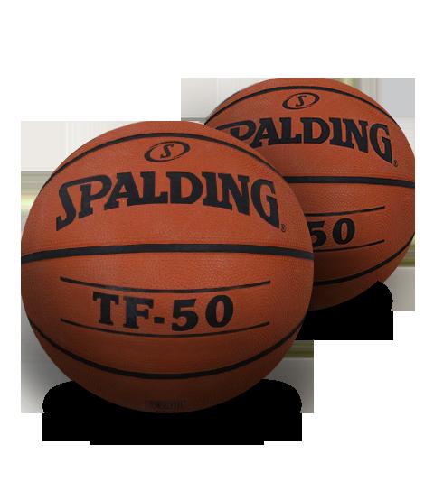 Bola de Basquete Spalding TF 50 Laranja