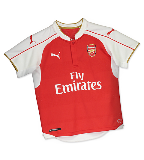 Camisa Puma Arsenal Home 2016 Juvenil