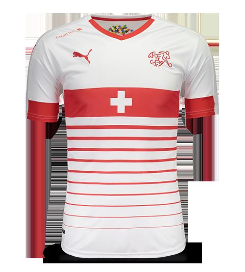 Camisa Puma Suiça Away 2016