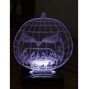 Lumin�ria Illusion 3D Acr�lico LED - Abobora