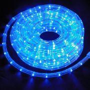 Mangueira Luminosa Azul 13MM LED - 10 Metros 127V