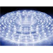 Mangueira Luminosa Branca LED - 10 Metros 220V - Corda de Natal