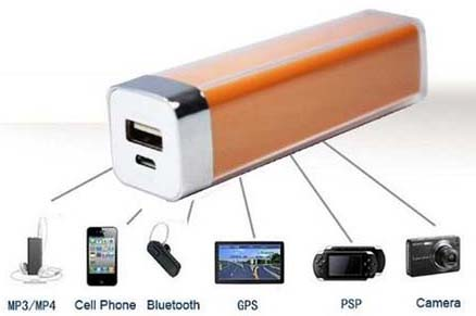 Carregador Universal de Bateria Extra iPhone iPod Galaxy - Frete Gratis