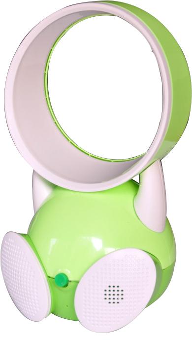 Mini Ventilador Sem Hélice Amplificador de Som 2 em 1 - Frete Grátis
