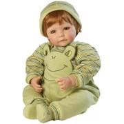 Boneco Adora 20 inches Baby Boy Doll Froggy Fun Red Hair Green Eyes