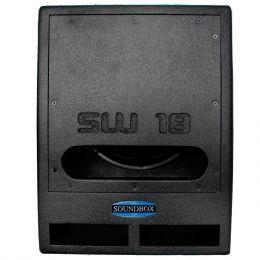 SW18 - Subwoofer Passivo 700W SW 18 Preto - SoundBox