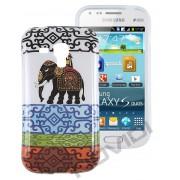 Capa Personalizada Elefantes para Samsung Galaxy S Duos S7562 - Modelo 1