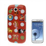 Capa Personalizada s�rie Signo para Samsung Galaxy S3 S III i9300 - Signo Le�o