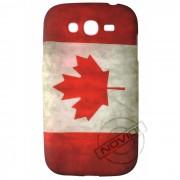 Capa Personalizada Bandeira Envelhecida Canad� para Samsung Galaxy Grand Duos I9082
