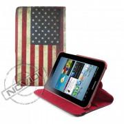 Capa para Tablet Personalizada Bandeira USA para Samsung Galaxy Tab 2 7.0 P3100 / P3110