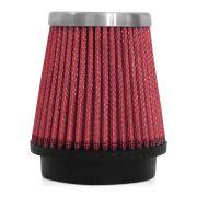 Filtro de Ar Esportivo Rs Air Filter C�nico 62mm Vermelho