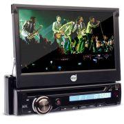 Dvd Player Automotivo Dazz DZ-5220BT Tela 7 Retr�til Cd Usb Sd Touch Screen Bluetooth TV Digital