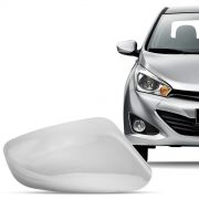 Aplique Cromado para Retrovisor Hyundai Hb20 2013 a 2015 Lado Direito