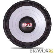 Woofer 18 Bravox RAVE RV18-S4 5.1kw 2500w RMS 4ohms