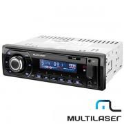 R�dio Automotivo Multilaser Talk P3214 Bluetooth com Entrada Auxiliar e USB