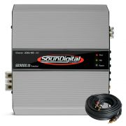 Modulo Amplificador Soundigital Evolution Sd3000.1d 1x3000w RMS 2ohms