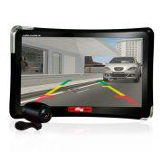Navegador GPS Guia Quatro Rodas Tela 7.0 Tv Digital e C�mera de R�