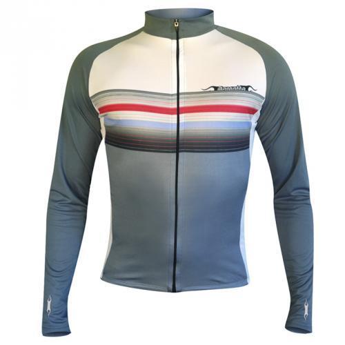 Camisa de Ciclismo Damatta Plain Manga Longa BI-10