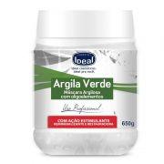 Argila Verde Corporal e Facial com Oligoelementos 650g Ideal