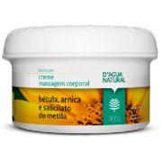 Creme de Massagem B�tula Arnica e Salicilato de Metila 300g Dagua Natural