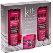 Kit Tratamento Capilar Color Brilliance Prote�na Do Arroz - Mirra�s