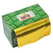 Papel Alum�nio Amarelo Para Cabelos Rolo 16Micras - 01 Unidade