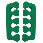 Separador De Dedos Em E.V.A Formato Cora��o 02 Unidades - Santa Clara
